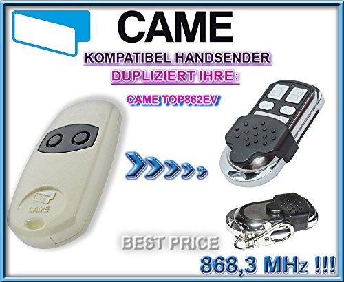 CAME TOP862EV / CAME TOP864EV kompatibel handsender, klone fernbedienung, 4-kanal 868.3Mhz fixed code. Top Qualität Kopiergerät!!!