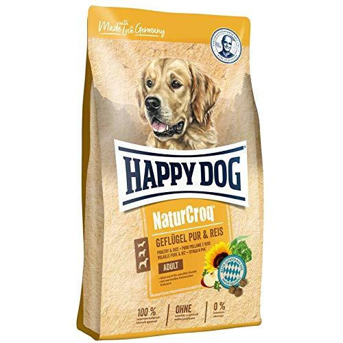 Happy Dog Premium - NaturCroq Geflügel pur & Reis, 4 kg