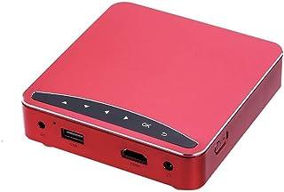 Mini Proyector De Video Portátil Home Hd Wireless Wifi Handheld Projector, 2000-3000 Lúmenes De Brillo De Color, Tamaño De...