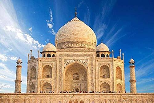 Puzzle de Taj Mahal, 1000 piezas, para adultos y niños, juguete dagógico, pintura de pared, decoración del hogar