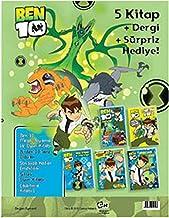 Ben 10 - Mega Kahraman Seti: Beş Kitap + Dört Dörtlük Macera!