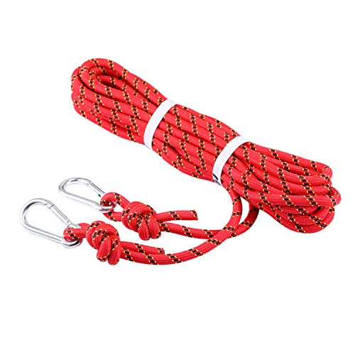 Selighting 8mm Corda da Arrampicata Professionale Corda Escursione Esterna 3KN