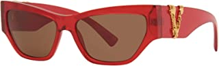 Versace VE4383 528073 Transparent Red VE4383 Cats Eyes Sunglasses Lens Category