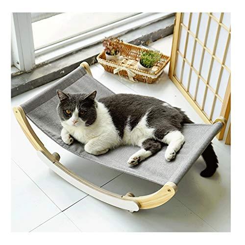 NYKK Hammock Pet Cat Hammock Shaker Sturdy and Comfortable, Easy to Assemble MDF Structure Cat Rest Seat Hammock Pet Hammock Bed