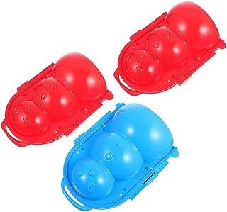 ifundom 3 stuks sneeuwbalmaker speelgoed sneeuwpop sneeuwspeelgoed sneeuw speelspeelgoed voor kinderen jongens en meisjes ...