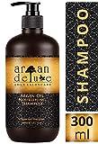 Champú Argan Deluxe 300 ml. - Con Aceite de Argán altamente hidratante, para un cuidado diario del...