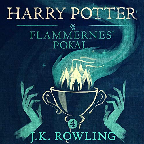 Harry Potter og Flammernes Pokal audiobook cover art