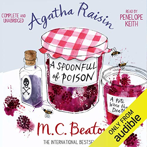 Couverture de Agatha Raisin and a Spoonful of Poison