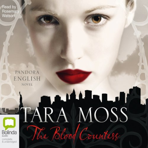 The Blood Countess     A Pandora English Novel              By:                                                                                                                                 Tara Moss                               Narrated by:                                                                                                                                 Rosemary Watson                      Length: 7 hrs and 29 mins     13 ratings     Overall 3.8