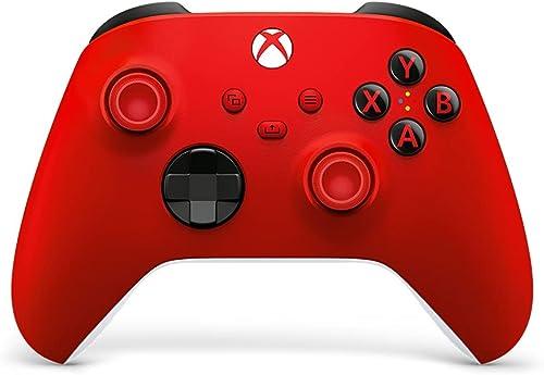 Manette Xbox rouge sans Fil - Pulse Red