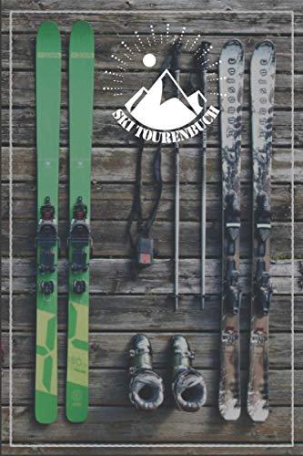 Ski Tourenbuch | Logbuch für deine Skitouren | für 15 Touren mit Checklisten, Tourenbuch, Karte und Notizen zum ausfüllen | 100 Seiten | A5: ... auch fürs snowboarden geeignet