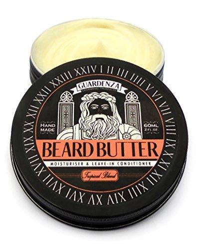 Guardenza Bartbutter - ganz natürlich 60 ml - Feuchtigkeitspflege & Leave-In Conditioner - Beard Butter