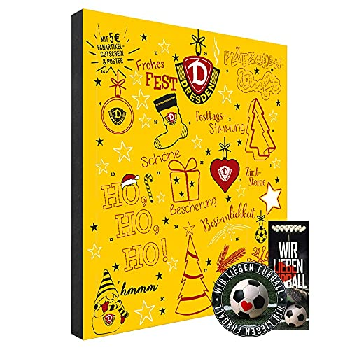SG Dynamo Dresden Premium Adventskalender gefüllt inkl. Poster SGD (A+L/WIR)
