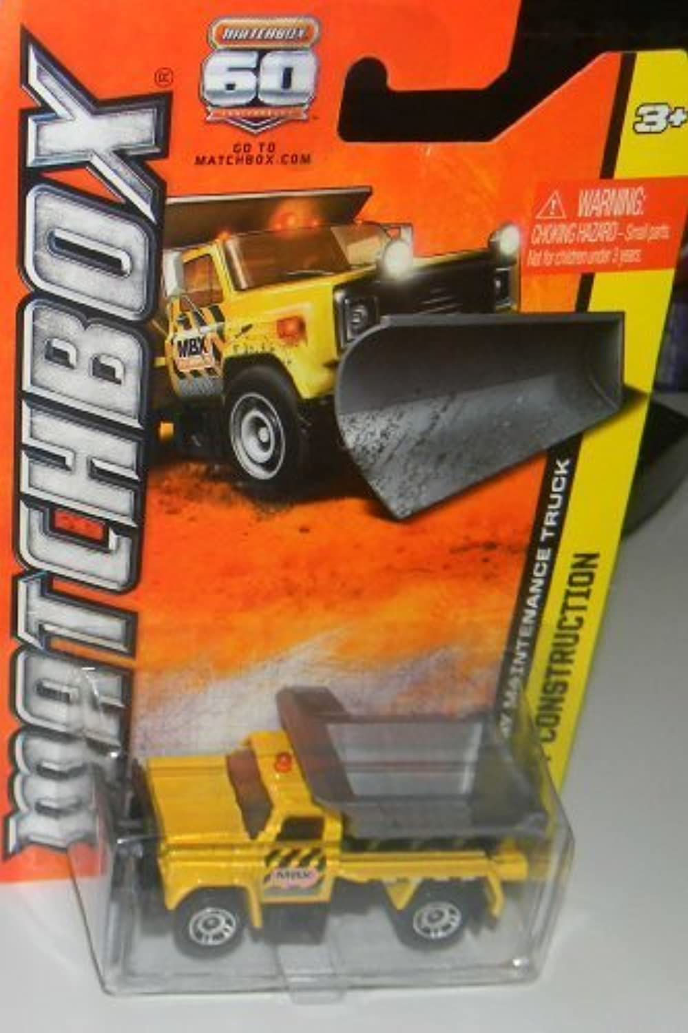 2012 MATCHBOX HIGHWAY MAINTENANCE VEHICLE 28 120 (YELLOW) by Matchbox
