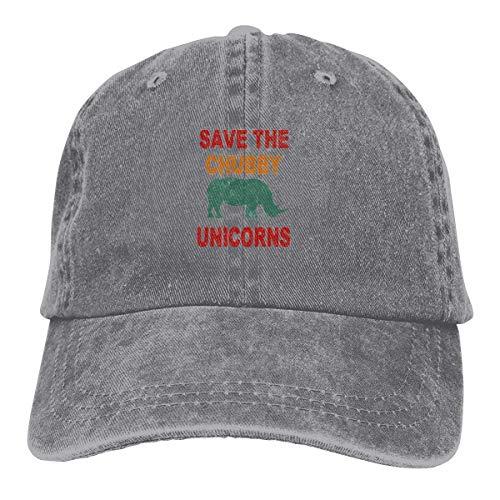 Save The Chubby Unicorn 8 Shirts Short Sleeve Denim Hat Mens