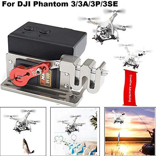 HSKB Drone Dropping System- Fotografie Extender Zubehör Freigabe- und Abwurfvorrichtung Transport Gerät -Romantischer Heiratsantrag für das DJI Phantom 3/3 PRO / 3 ADV / 3SE 3 Series Drone