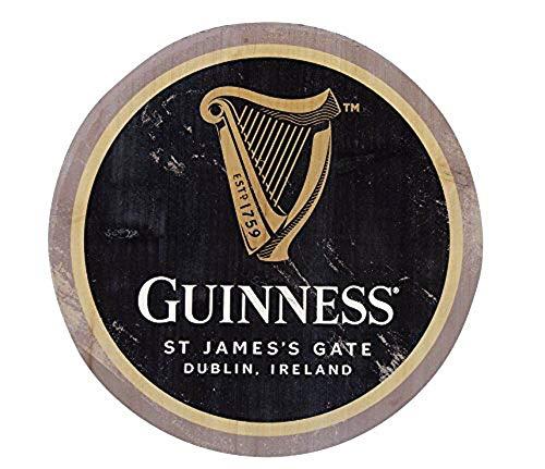 Guinness aus Holz Flasche Top Bar, Art Wand 30,5cm (Harfe)