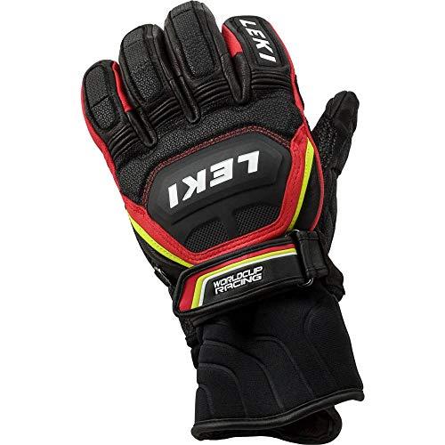 LEKI Worldcup Race Flex S LT Speed System Handschuhe (schwarz/rot), 10.5