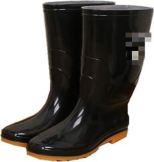 marca blanca Bottes De Pluie pour Hommes Quatre Saisons/Bottes De Pluie À Tube Élevé/Chaussures d'eau Résistantes À l'usur...