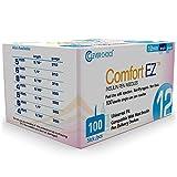 Clever Choice Comfort EZ™ Insulin Pen Needles 29G 12mm (1/2') - 100 Count