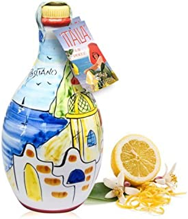 Limoncello of Sorrento 'Positano' - Hand-painted Jar (Made in Italy)