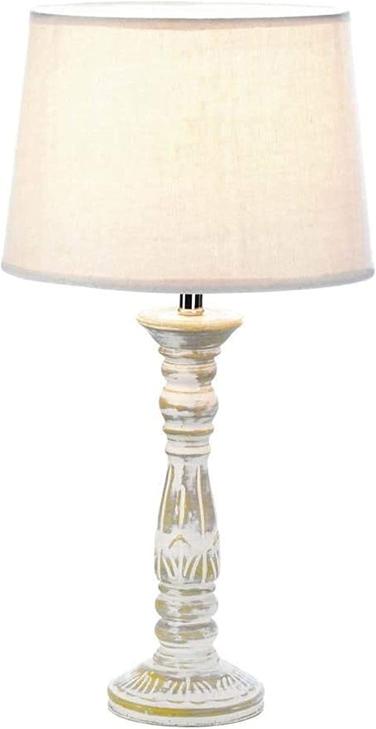 Desk Lamp 57074144 Online limited product Vintage Cream Overseas parallel import regular item Table White LAMP fo Book Light