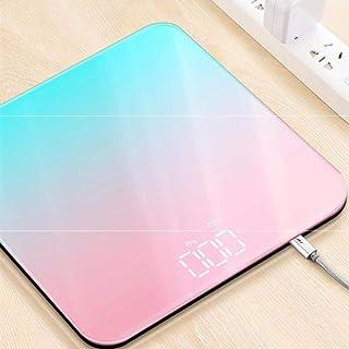 Báscula de baño digital Cargador inteligente Báscula corporal Báscula de peso Báscula doméstica Báscula de pesaje Báscula Dispositivo de pesaje
