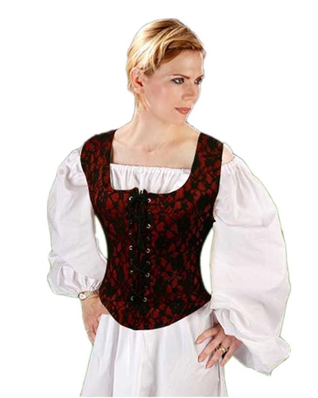 Pirate Wench Peasant Renaissance Medieval Costume Corset Bodice