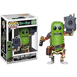 Funko Pop Pickle Rick con Laser (Rick & Morty 332) Funko Pop Rick & Morty