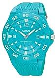 Lorus Fashion R2347FX9 - Reloj analógico de Cuarzo Unisex, Correa de Goma Color Azul