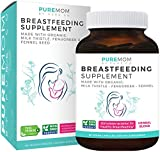 Best Fenugreek Capsules - Organic Breastfeeding Supplement - Increase Milk Supply Review