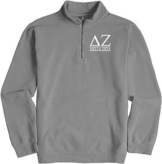 Delta Zeta Quarter Zip Pullover