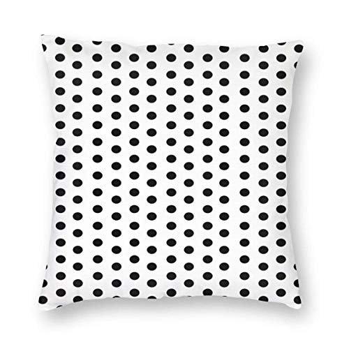 Harla Home Colorful Polkadot Polka Dot Black White Bed Pillows Sleep Pillow Covers Sleeper Living Room Sofa Car Cushion cover Case