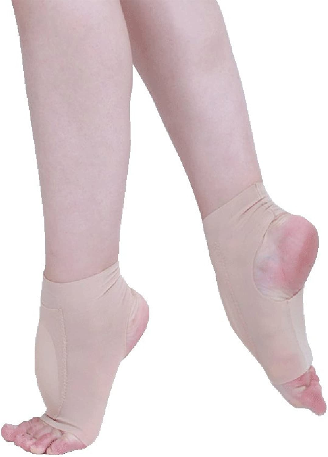 SHOLIND Womens Ballet Dancing Training Artistic Anti-Friction Silicone Instep Cushion shoes