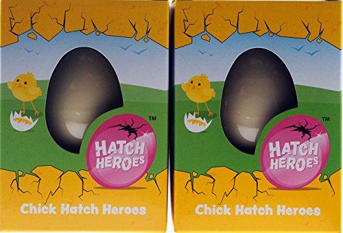 Juego de 2 huevos para nacer con diseño de gallina, regalo de Pascua