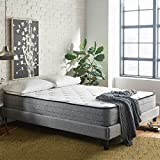 Early Bird Fusion 10-inch Hybrid Memory Foam and Spring Mattress, Cushion Firm, Bed in a Box, Cool Sleep,...