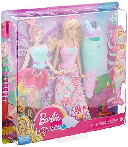 Barbie Robe de Conte de Fée Dreamtopia Sirène Princesse - 4