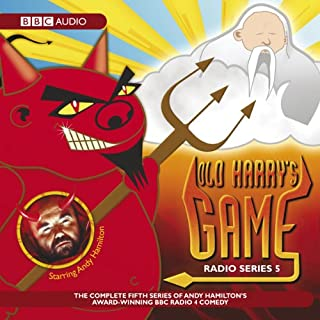 Old Harry's Game audiobook cover art