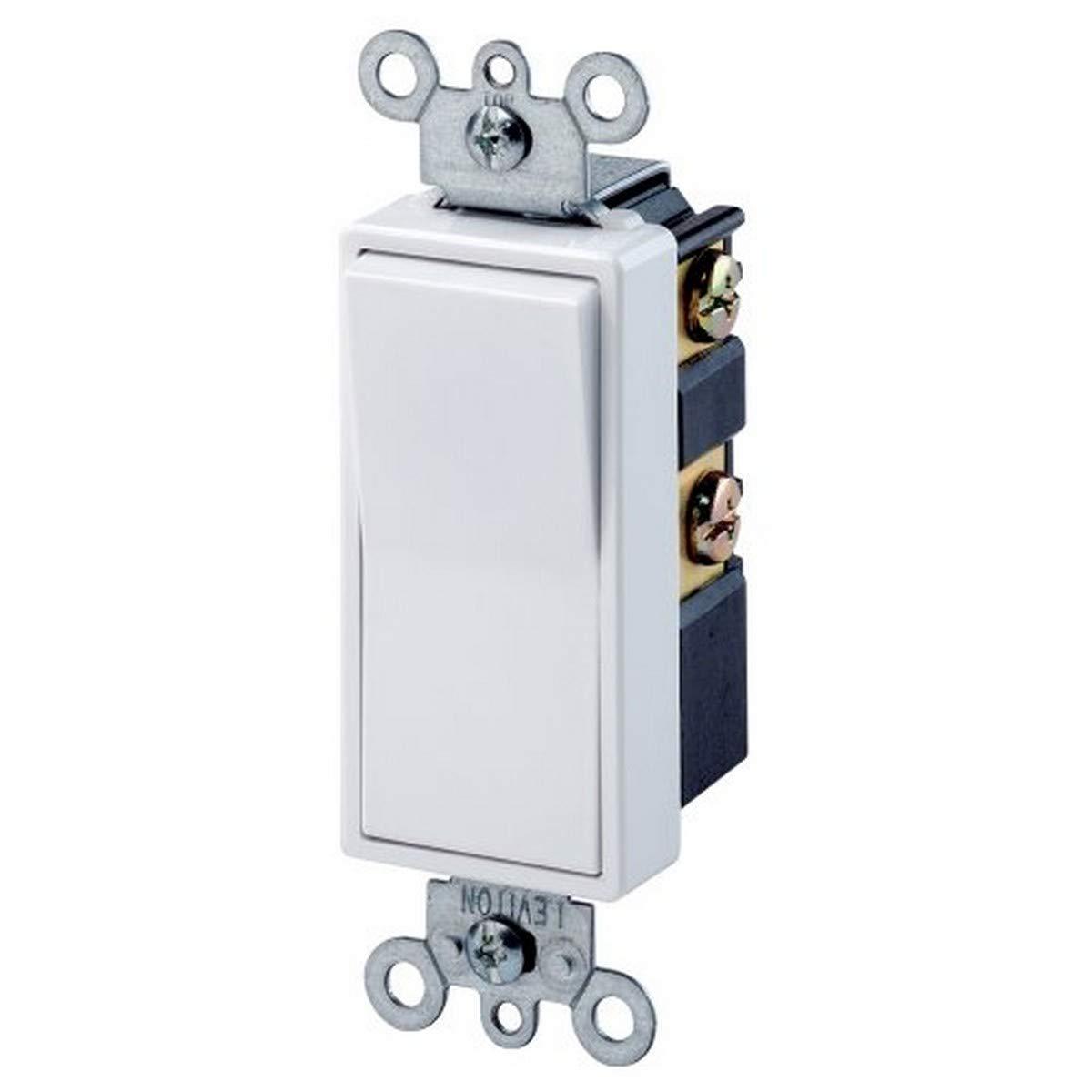25% OFF Leviton 5604-2W 15 Amp 120 Max 45% OFF 277 Decora Qui 4-Way Rocker AC Volt