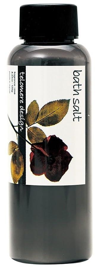 摩擦形成かもしれないテロメア 入浴剤 バスソルト 120g 日本製 バラの香り OB-TLO-5-4