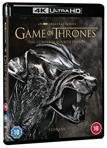 Game of Thrones: Season 4 [4K Ultra HD] [2014] [Blu-ray] [Region Free]
