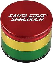 "SANTA CRUZ SHREDDER - LARGE 4 PIECE GRINDER RASTA 2.75"""