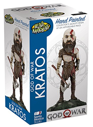 KRATOS HEAD KNOCKER FIGURA 22 CM GOD OF WAR (2018)