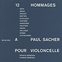 Paul Sacherへの12の献辞 Demenga、Etc
