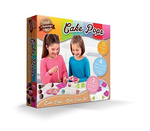 Real Baking 40629.4300, Küchenspielzeug Cake Pops, Backen, Set