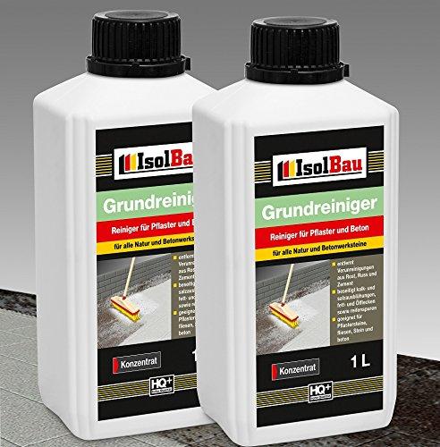 2 Liter GRUNDREINIGER - Konzentrat Intensiv Naturstein Reiniger Marmor Fliesen, Stein und Beton