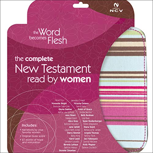 The Word Becomes Flesh Audio Bible - New Century Version, NCV: New Testament  By  cover art