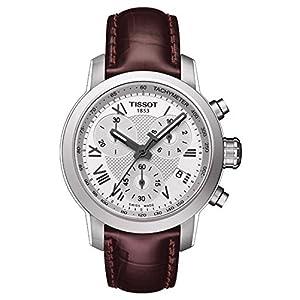 Tissot T0552171603301 PRC 200 – Reloj para mujer, esfera plateada,