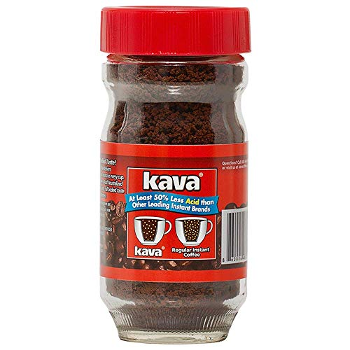Kava Reduced Acid Instant Coffee, 4 Ounce