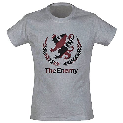 Enemy The T-shirt gris Crest Official Merchandise Logo - Gris - 54